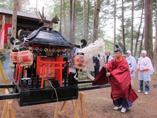 子安諏訪神社祭